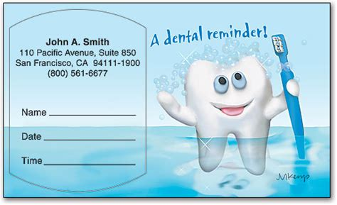 dental recall card template recall cards for dental offices arts arts