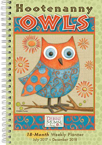 Pdf Hootenanny Owls 2017 Engagement Calendar by Sellers Publishing Cw0222 Hootenanny Owls Debbie Mumm
