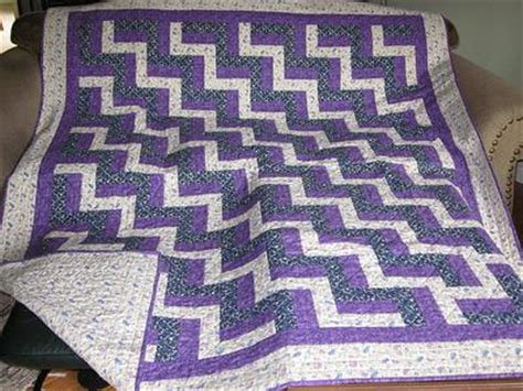 Fence Rail Quilt Patterns by Rail And Fence Quilt