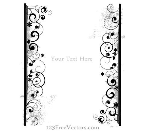 floral grunge frame vector stock vector illustration of illustration 1792578 grunge floral frame vector illustration free vector free vectors