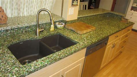 Green Countertop by Vetrazzo Bistro Green Countertops