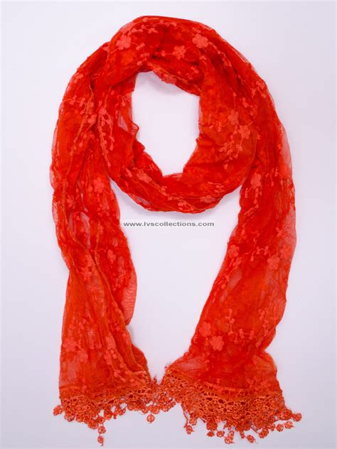 lvs201 small floral lace scarf special 1 99 on sale