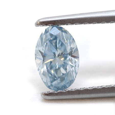 Fancy Colored Diamonds To Die For From Fancydiamonds Net by Fancy Blue Oval By Leibish Co 0 50cts
