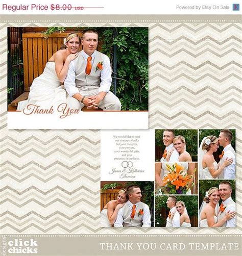 5x7 flat card template 1000 images about wedding thank you templates on