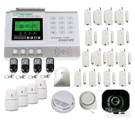 best wireless home security system 99 zone auto burglar wireless home security alarm