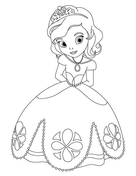 free coloring pages princess sofia awesome princess sofia the coloring page coloring
