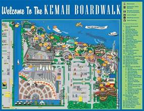 map of kemah boardwalk outlaw challenge