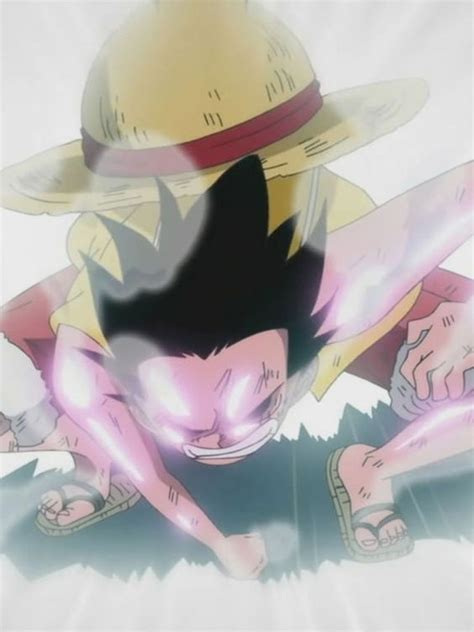Monkey D Luffy Gear Second monkey d luffy in gear second one