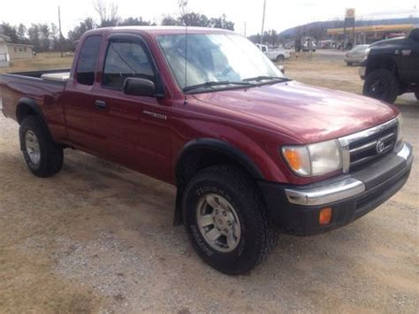 1999 Toyota Tacoma 4x4 For Sale Buy Used 1999 Toyota Tacoma Sr5 Extended Cab 2 Door