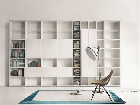 librerie lema libreria componibile modulare su misura selecta by lema