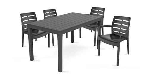 chaise salon de jardin table et chaise de jardin pas cher en plastique luxe salon
