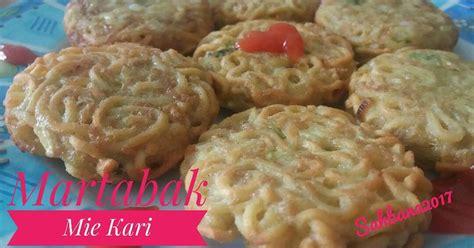 Mie Kari resep martabak mie kari oleh dhewy sahbana cookpad