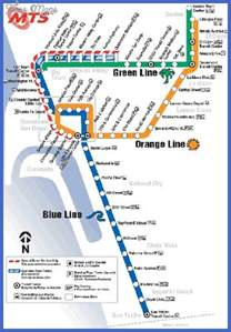 San Diego Bus Map by San Diego Metro Map Map Travel Holiday Vacations