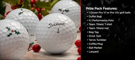 Titleist Giveaway - titleist 171 happy holidays giveaway 171 infinite sweeps
