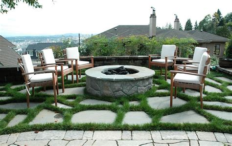 Backyard Fire Pit Ideas With Simple Design Ideas For Pits In Backyard