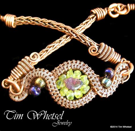 wire wrapped jewelry by tim whetsel copper wire wrapped