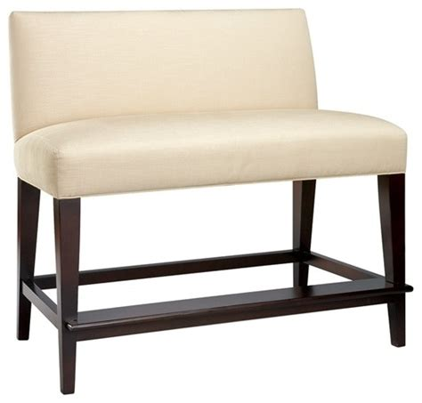 double bar stool bench mission dual seat counter bench contemporary bar