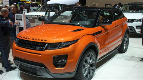 orange range rover evoque land rover range rover evoque autobiography dynamic is a