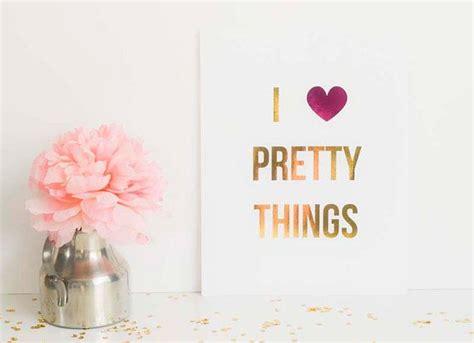 Things Pretty In Prints i pretty things foil fashion print home decor
