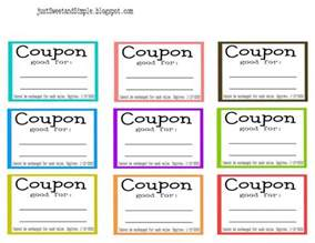 printable coupon template coupons template free printable selimtd