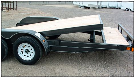 tilt bed car trailer tilt bed trailers