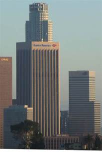 Bank Of America Building Bank Of America Plaza Los Angeles