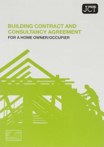 jct design and build contract db 2011 edition jct building contract and consultancy agreement for a