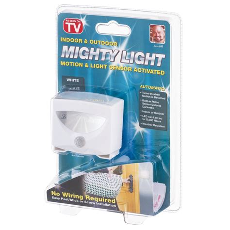 Mighty Light Lu Led Sensor Gerak mighty light lu led sensor gerak white jakartanotebook