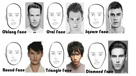 hair for diamond shape face men choose the best hairstyle for your face shape how to