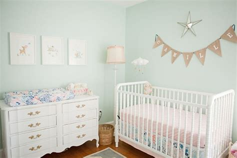 Green Nursery Decor Telling A Story With Vintage Decor Rockers Mint Green Walls And Tables
