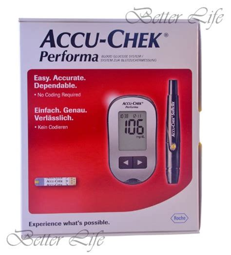 Accu Chek Performa Termurah accu chek performa glucometer kit with 110 test strips pro supply