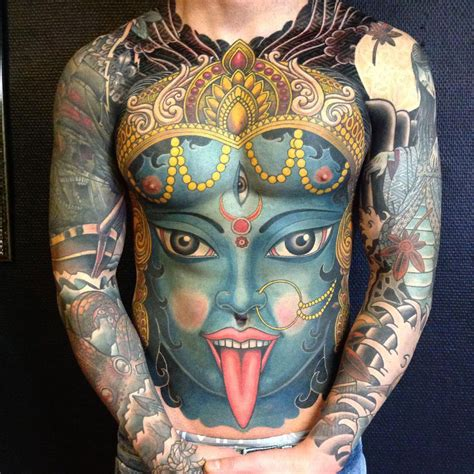 kali tattoo kali the hindu goddess best design ideas