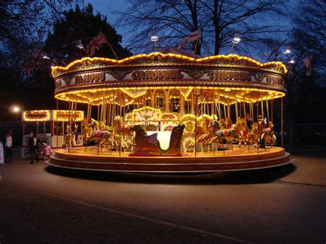 file carousel at quot winter wonderland quot hyde park geograph