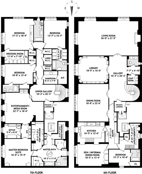 new york floor plans home for sale nytimes