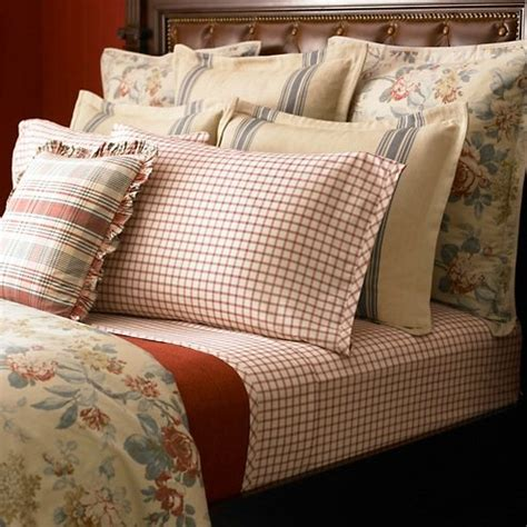 discontinued ralph lauren bedding lauren by ralph lauren lake house red tattersall full