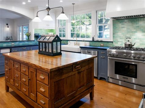 14 creative kitchen islands and carts hgtv