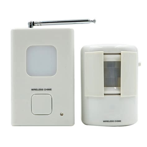 wireless digital doorbell with 35 melodious bell pir