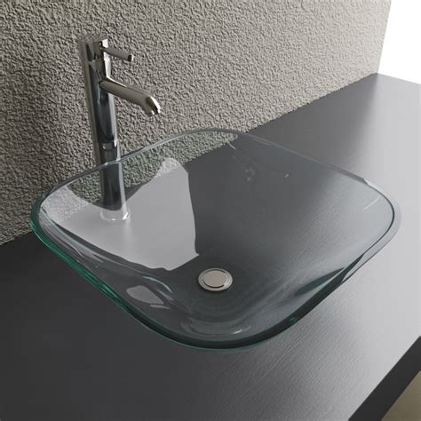 cantrio koncepts glass square vessel sink lowes canada