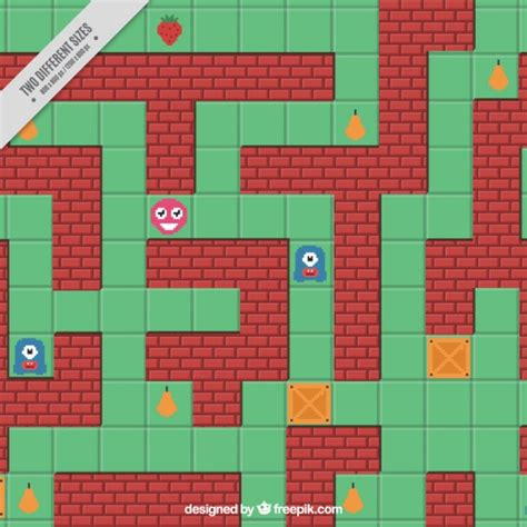 design background games old video game background in flat design vector free