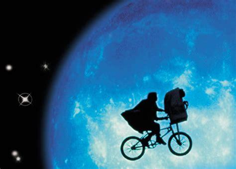 E T Bike Chase Scene by Bike In Movie Night At 6th Street Arts