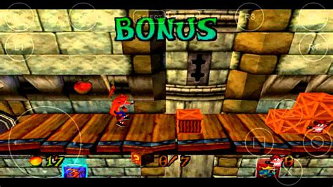 emuparadise fpse hd emulador ps1 fpse test crash bandicoot 3 game youtube