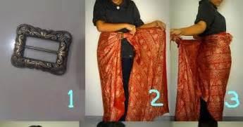 tutorial menggunakan kain batik sebagai rok siminyun s story cara pakai kain batik sebagai rok