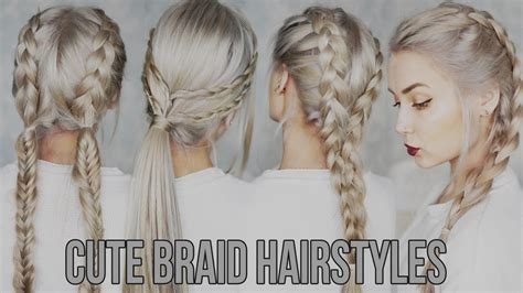 trend of braid hairstyles easy 3 easy
