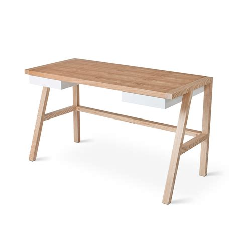 Gus Modern Finch Desk Grid Furnishings Modern Desk