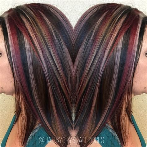 best red highlights ideas for blonde brown and black hair best 25 red blonde ideas on pinterest copper blonde