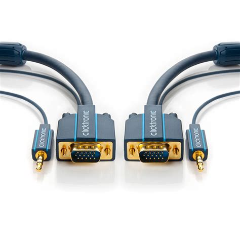 Best Kabel Vga 20 Meter Kabel Vga 20m Vga 20m vga kabel m lyd clicktronic ultra pro 20m