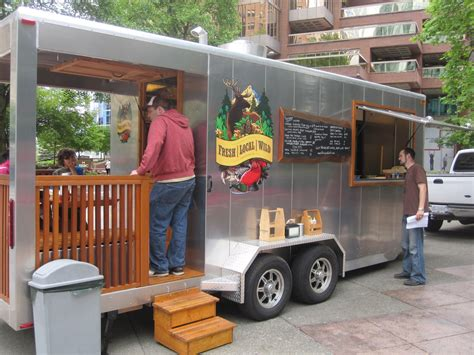bbq food truck design spotlight fresh local wild more than a food stand