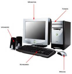 Computer Desktop Components Basic Computer Components Pictures To Pin On