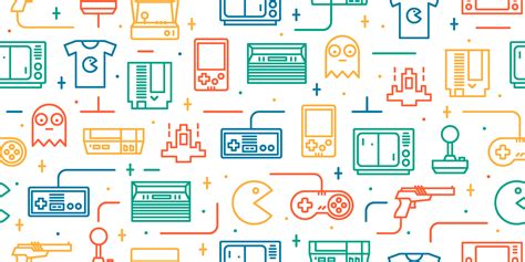 pattern quiz games dribbble retro pattern png by catalin mihut