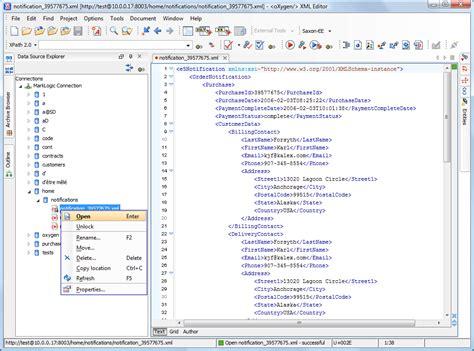 xml xquery tutorial marklogic support oxygen xml editor